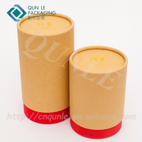 Recyclable Telescope Creative Paper Tube Packaging box
