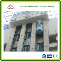 Panoramic Elevator CE approved