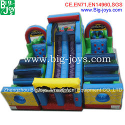 Durable PVC giant obstacle course inflatables inflatable obstacle with low price