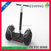 Eswing 2015 Hot-sale 2wheels Scooter Fashionable design strong sand beach car,adult pedal car with GPS