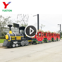 Sales Amusement Theme Park Playground Children Size Mall Diesel Tourist Road Trackless Trains