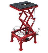 Motorcycle Double Scissor Lift Table