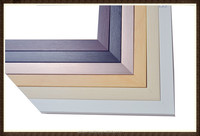 Plastic mirror frame, picture frame and photo frame Moulding.