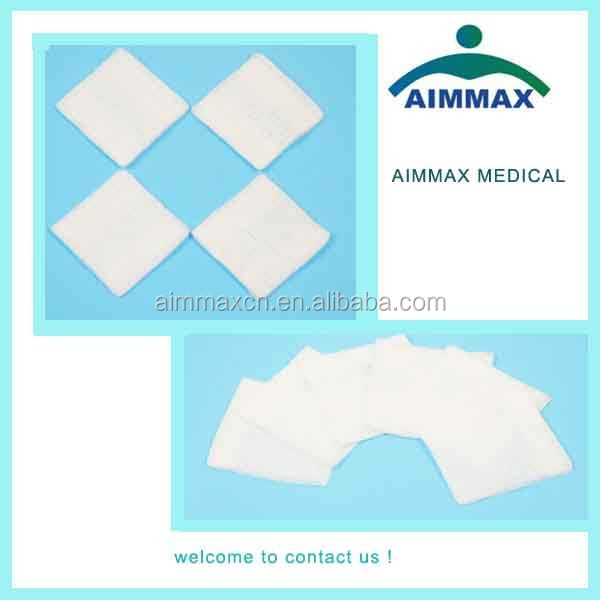 cotton sterile medical gauze piece