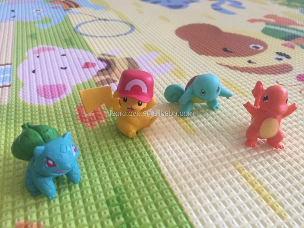 2016 hot pokemon 3-5cm pokemon Pocket Monster Figure cartoon Christmas toys for kids