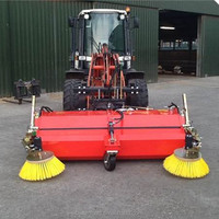 Best quality road sweeping vehicle