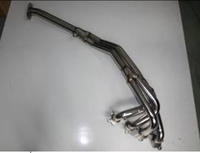STAINLESS RACING exhaust MANIFOLD HEADER FOR 89-93 MAZDA MIATA 4CYL 1.6L NA B6ZE MX-5 MX5