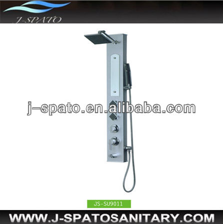 Hot style sanitary ware high quality luxurious wall-mounted fashion baths shower mixer