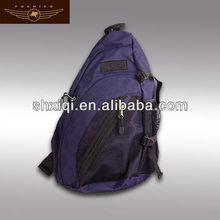 Large multi-compartment design triangle backpack