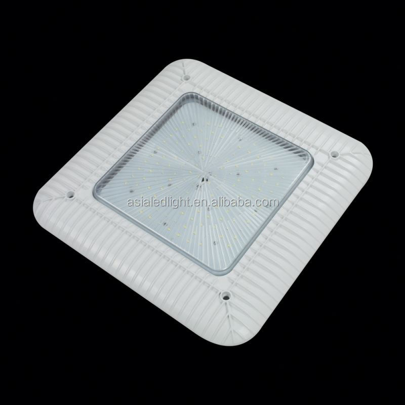 DLC ETL listed 100W led canopy lighting,wide angle led module red tupe for canopy lighting