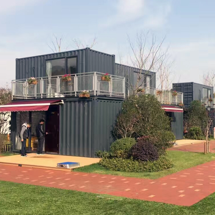 Best quality luxury prefab container houses with best