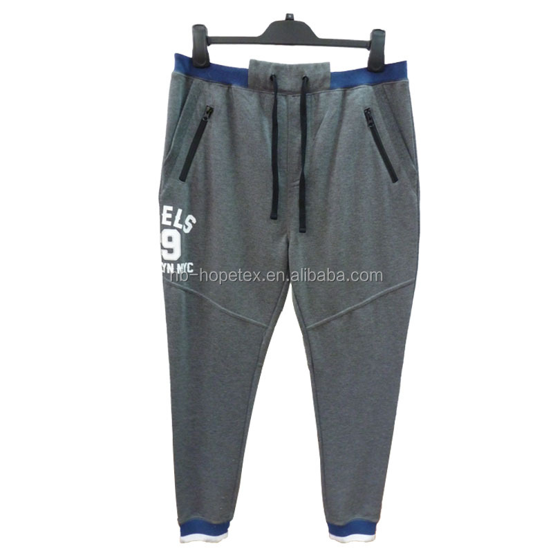 jogger pants men sports casuanl fashion pants in fleece