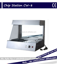 Potato chips packing station/ warming machine/Food warmer