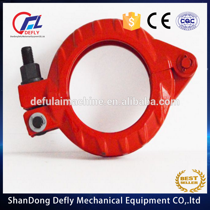 Concrete Pump Spare Parts Zoomlion 125BI Pipe Clamp for Truck Mounted Concrete Boom/Line Pump and Trailer
