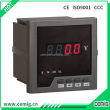 Best quality SMGU single phase analog output voltage meter