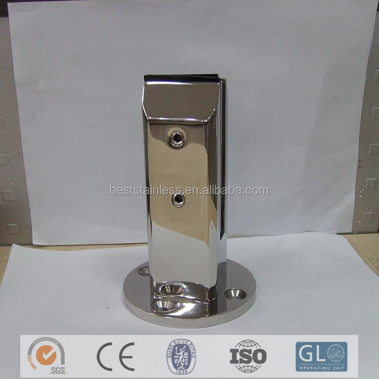 Glass Railing Clamp Stainless Steel Glass Balustrades Spigots