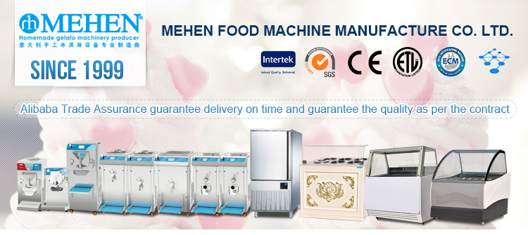 High quality hot sale ice cream batch freezer large capacity water cooling italy gelato machine