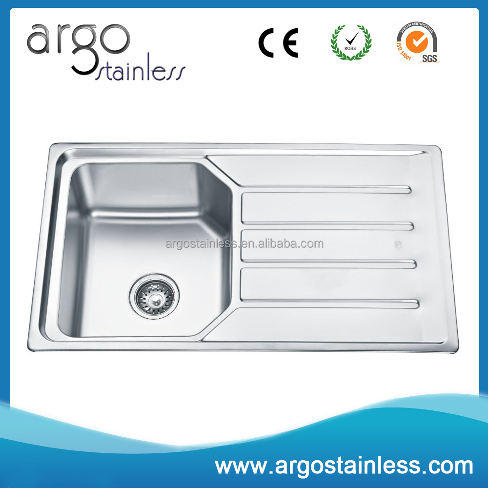 Fast delivery factory price top mount kitchen sinks wholesales
