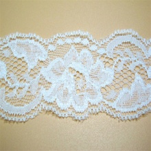 Wedding dress useage accessories polyamide spandex material lace