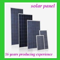 Semi Flexible High Efficiency Sunpower Solar Panel 3w-300w, mono or poly solar panel price 250w