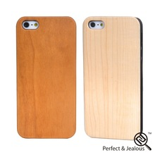 2 years warranty Custom logo 2013 new design pc+pure wood veneer gluing phone case for iphone5s