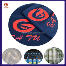 Water base textile printing thick 3d ink
