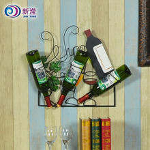 Good quality anniversaries decorative metal wine pallet display stand