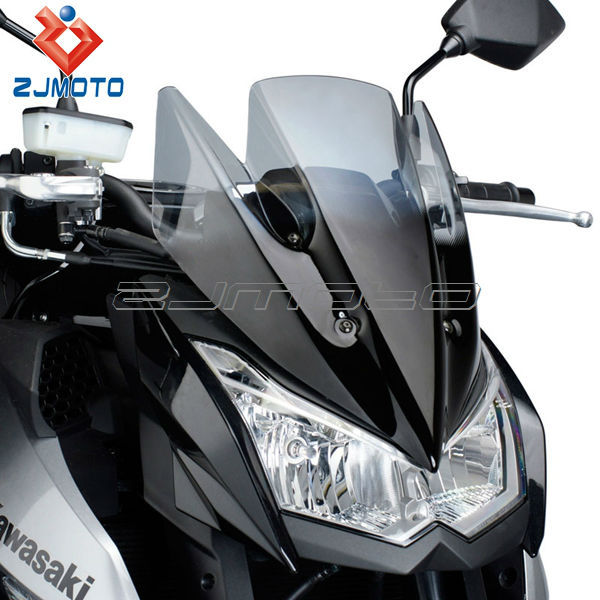 Good quality Smoky Motorcycle Windscreen Windshield Fit For Kawasaki Z1000 2010 2011 2012 2013