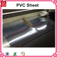 0.2mm to 5mm pvc clear plastic sheet for folding boxes