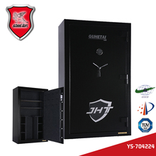 Military guns and weapons safe box for keeping pistol and rifles fireproof gun cabinet