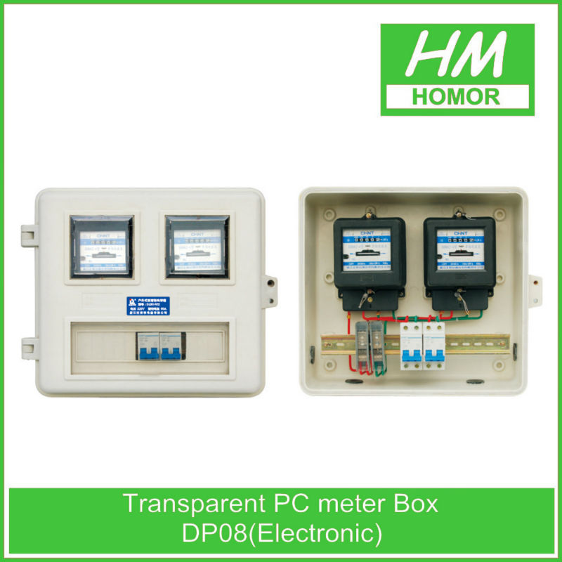Waterproof fiberglass electric meter box cover
