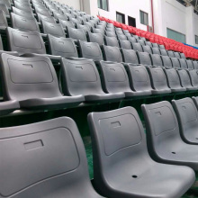 stadium stands and aluminum bleachers with plastic seats