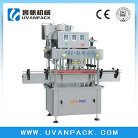 Automatic inline straight capping machine for lemon soda water bottleFXZ-6L