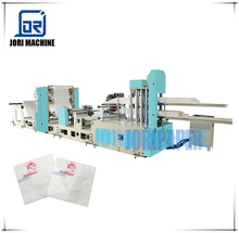 Single Deck 1200 Piece Per Minute Embossing Printing High Speed Automatic Two Colour Napkin Printing and Making Machine