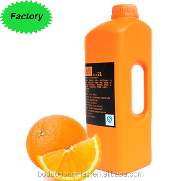 New product promotion Hot Sale Fruit Flavoured Syrup Concentrated Orange Juice