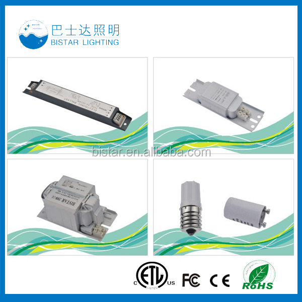 electronic ballast t8 2x36 for fluorescent lamp circuit
