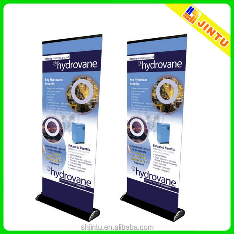 2015 hot sale roll up vertical banner size