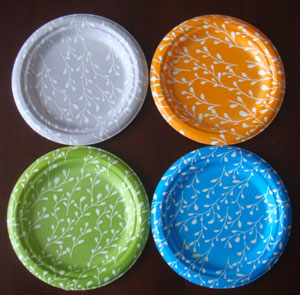 wholesale China factory take away paper plate