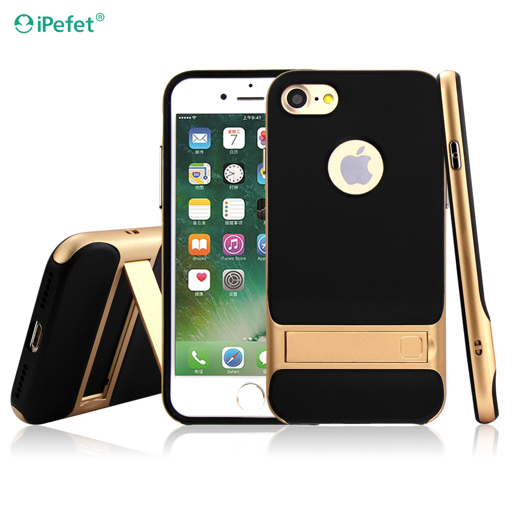 free sample hot selling design cell phone cover 2 in 1 back case for iphone 7