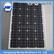 High efficiency 1w to 300w solar panel with frame from hengwang factory
