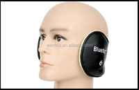 winter hat leather plush MIC inserted buletooth earcap, Can be used for mobile phone hands-free system, easy call