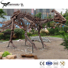 Parasaurolophus fossils 100% handmade dinosaur skeleton replica for sale