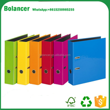 office file paper material a4 cardboard lever arch file with high quality