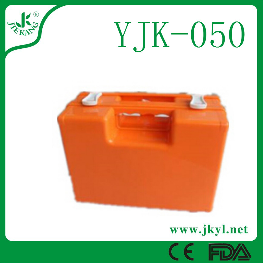 YJK-050 Medical traveling first aid kit hard case exquisite selection for hot sale