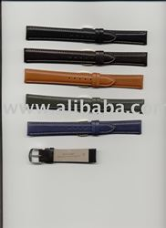 waxed calf leather watch straps