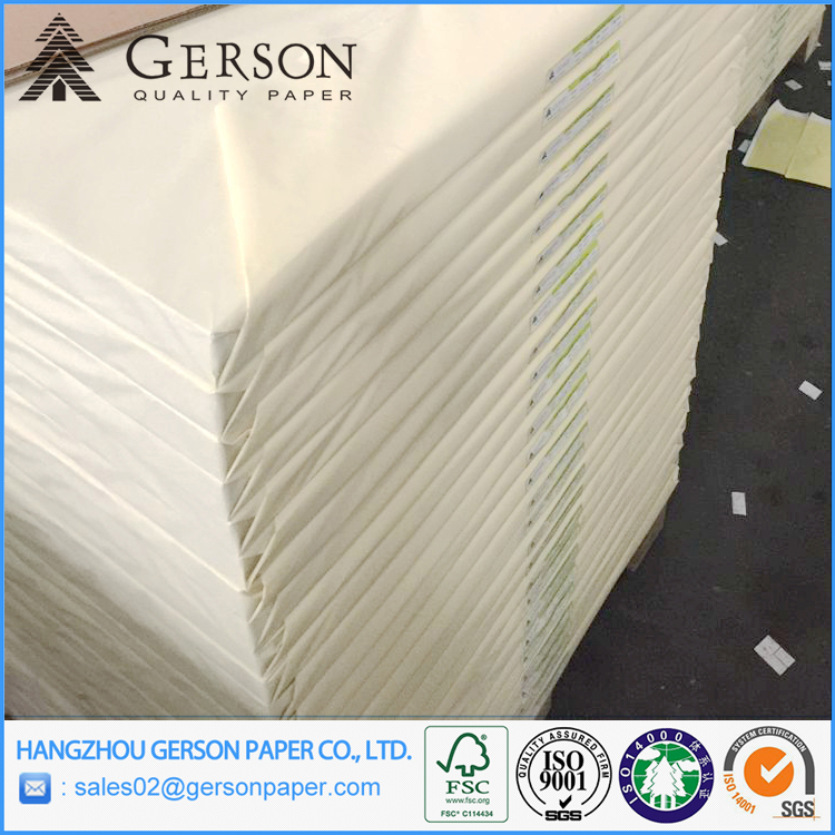 gd1 gc1 White Coated Duplex Board Paper With Grey Back For Kartons