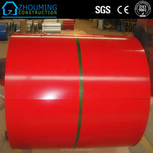 RAL 1016 1017 1018 1019 1020 Color Coated DX51D Prepainted GI Steel Coil