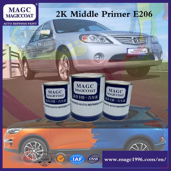 Two-Component Alkyd Resin Paint Middle Primer 2k For Cars