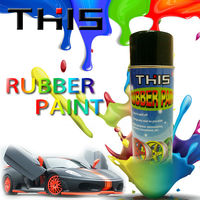 THIS 450ml Peelable aerosol rubber coating spray for car
