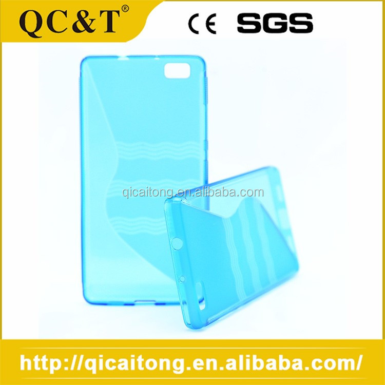 Slim Fit S Line Plain Hard Plastic Phone Cases For huawei G630